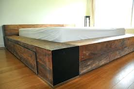 Solid Bed Frame Solid Wood Twin Platform Bed Simple Amazing Bed ...