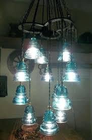 glass insulator lamp horse shoe and glass insulator chandelier glass insulator pendant lamp