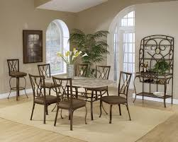 Hillsdale Brookside 5 Piece Rectangular Dining Set with Diamond Back Chairs