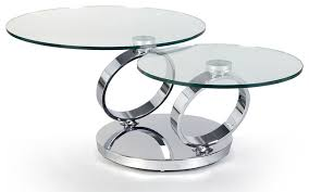 Coffee Table:Modern Chrome Coffee Table Table And Estate As Well As  Interesting Brilliant Glass