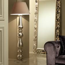 contemporary italian lighting. Designer Italian Champagne Leaf Contemporary Floor Lamp Lighting