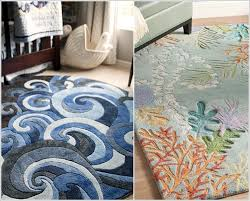 roll out an under the sea rug