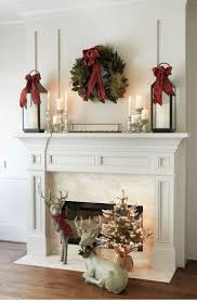 Appealing Fireplace Mantel Christmas Decorating Ideas Photos Photo Ideas