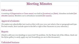 How To Write Meeting Minutes Sample Minutes Of Meeting Writing Up Board Pdf Memo And