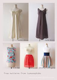 Dress Patterns Free Delectable Free Japanese Sewing Pattern Tamanegi Kobo Japanese Sewing