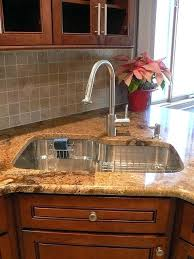 corner kitchen sink love the but not colour of materials for cupboard or topbest d shaped