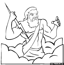 Small Picture Greek Mythology Online Coloring Pages Page 1