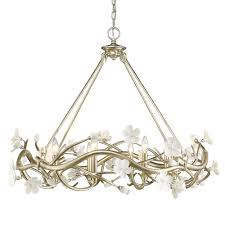marvelous crystal leaves chandelier 10 silver leaf golden lighting chandeliers 9942 8 sl 64 1000
