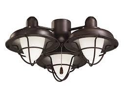 fan light fixtures. emerson ceiling fan light fixtures lk40orb boardwalk cage kits, medium base cfl kit, oil rubbed bronze lamp - fans