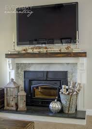 natural u0026 simple fall home tour simple autumn decor inspiration fireplace hearth n41 hearth