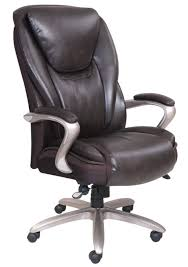 serta smart layers hensley executive big tall chair roasted chestnutsatin nickel extra large executive chairs overall dimensions x 28 x at office depot