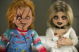 this came to me when i was at the thrift and spotted a wedding dress that resembled the bride of chucky and i knew it would fit me
