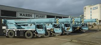 Marsh Plant Hire Adds 5 Units Liebherr Cranes