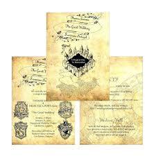 wedding announcements with regard to harry potter invitations a invitation wording weddi