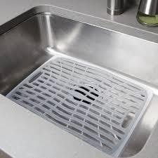 Kitchen Sink Drain Rack Amazoncom Oxo Good Grips Sink Mat Large Dish Racks Kitchen