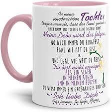Tassenbrennerei Tasse Mit Spruch Stolze Mama Tochter Geschenk Für
