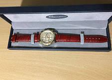 rousseau watch rousseau men s automatic watch tachymeter water resistant