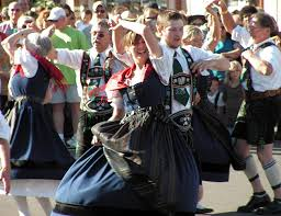 german dancers