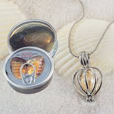 love wish pearl kit harvest your own great gift necklaces pendants