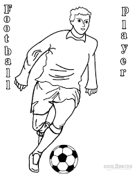 Printable Football Player Coloring Pages For