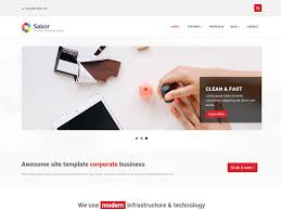 sailor free bootstrap template for