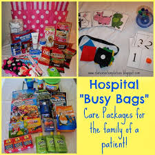 hospital busy bags often the families of a chronically or critically ill person spend long periods of time at the hospital this post has lots of ideas