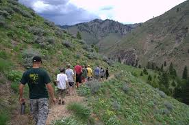 Image result for scout hiking photo