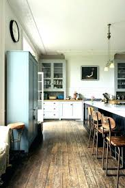 off white kitchen cabinets dark floors. White Kitchen Cabinets Dark Floors With Tile Off