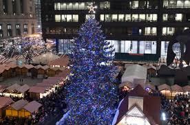 christmas tree lighting chicago. Don\u0027t Miss The Anniversary Of Christmas Tree Lighting Ceremony On Daley Plaza, Tuesday, November 25 Chicago M