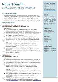 Engineering Skills Resume Civil Engineer Resume Samples Qwikresume