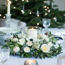 Nordic Table Wreath from our Christmas 2016 collection. This Winter White  Christmas table arrangement creates the perfect table centre piece.