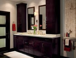 kitchen cabinets in bathroom. Waypoint Bathroom Style 410S In Maple Espresso Kitchen Cabinets D