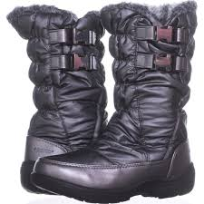 Details About Sporto Makela Waterproof Winter Boots 594 Dark Pewter 6 5 Us