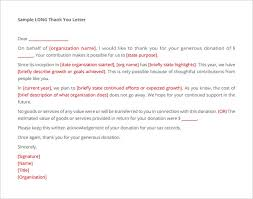 Download Donation Acknowledgement Letter Sample PDF for Free