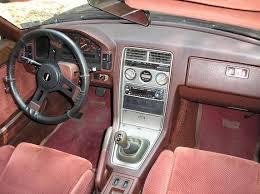 mazda rx7 1985 interior. whatu0027s the deal with 2 tone maroon interior mazda rx7 1985
