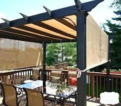 deck shade canopy backyard ideas best on pergola sun outdoor diy