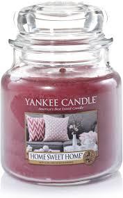 Amazon.de: Yankee Candle Duftkerze im Glas (mittelgroß) | Home Sweet Home