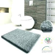 grey bathroom rug gray sets dark rugs charcoal bath round blue