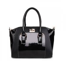Coach In Logo Medium Black Satchels BLE