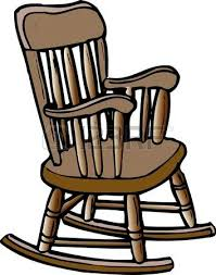 rocking chair clipart. Rocking Chair Stock Photo Clipart D
