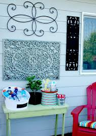 diy patio wall decor outdoor wall art diy todays creative l on wall decals for