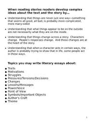 all about writing literary essays by always learning and always all about writing literary essays