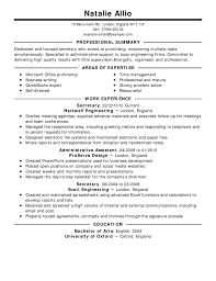 Legal Resume Valuable Legal Resume Examples 100 Secretary Samples Image 70