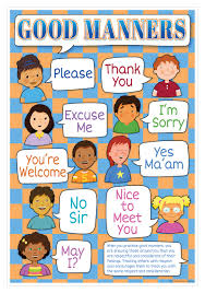 Good Manners Chart For Class 1 Good Manners Smart Chart Top Notch Teacher Products Inc