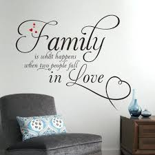 wall sticker decoration family in love home decor creative e wall decals removable vinyl wall stickers