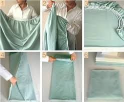 fold fitted sheet perfectly folded fitted sheet in a few steps alldaychic