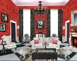 black red rooms. Red Living Room Wallpaper Ideas Best Solutions Of Black Rooms G