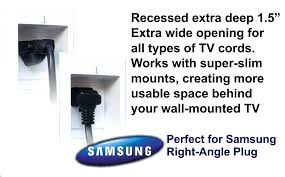 in wall cable management in wall cable management for wall mounted tv home depot