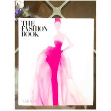 whilst doing a spot of ping on sunday i spied this lovely coffee table book the fashion book new addition drawn to it because of the vibrant cover