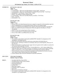 Resume For Rn RN Wound Care Resume Samples Velvet Jobs 17
